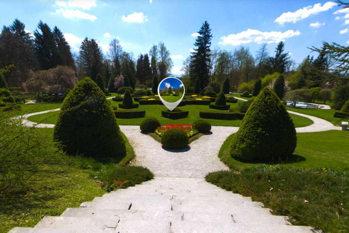 3D sprehod po Arboretumu