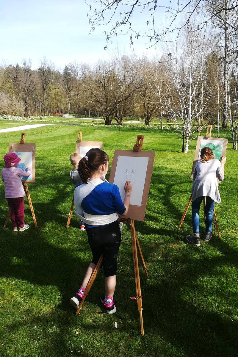 Slikarska delavnica za otroke