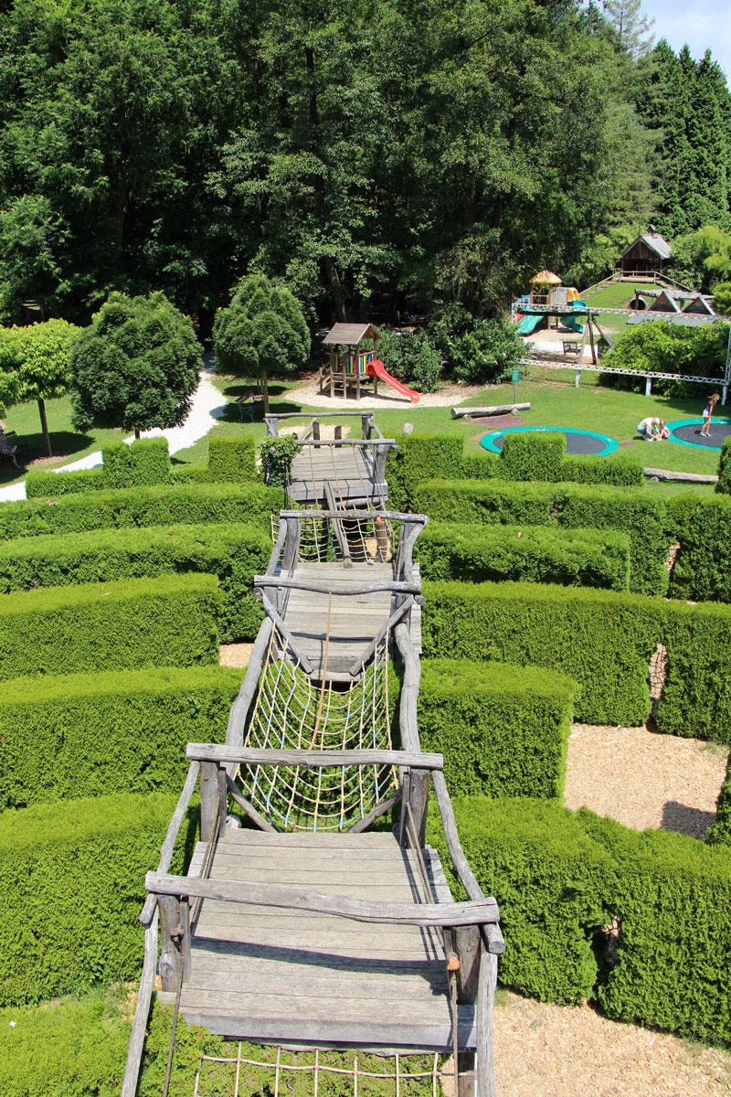 Otroško igrišče v Arboretumu Volčji Potok