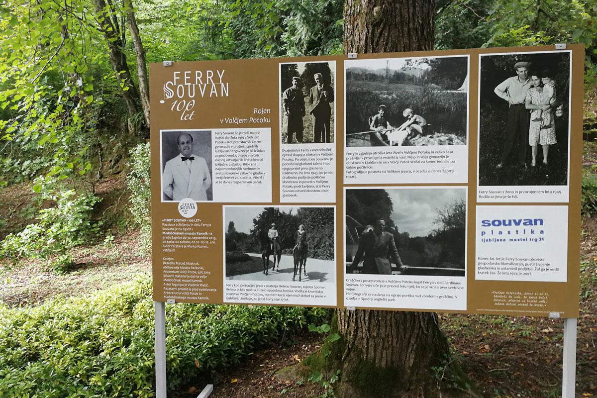 Ferry Souvan - 100 let