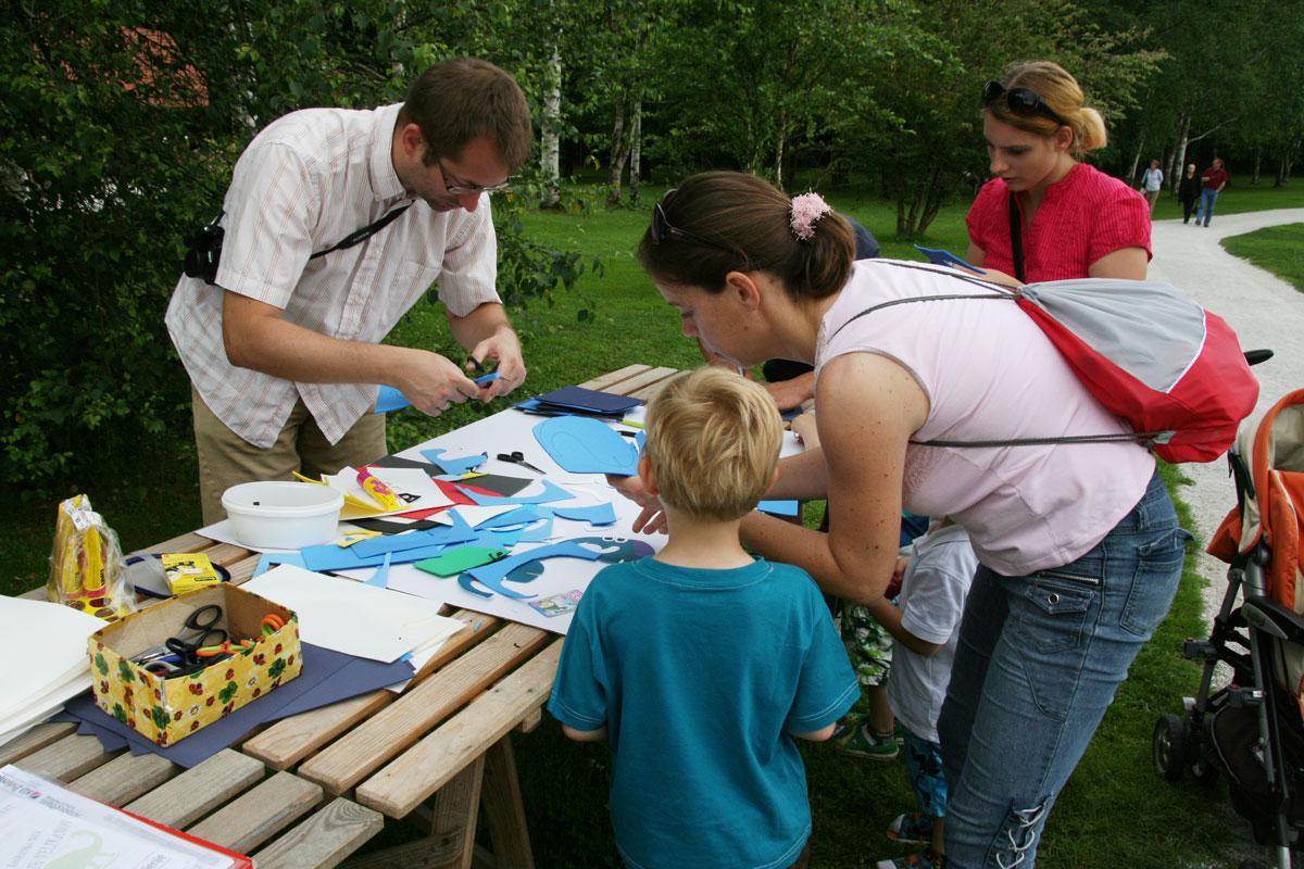 Otroške delavnice v Arboretumu Volčji Potok