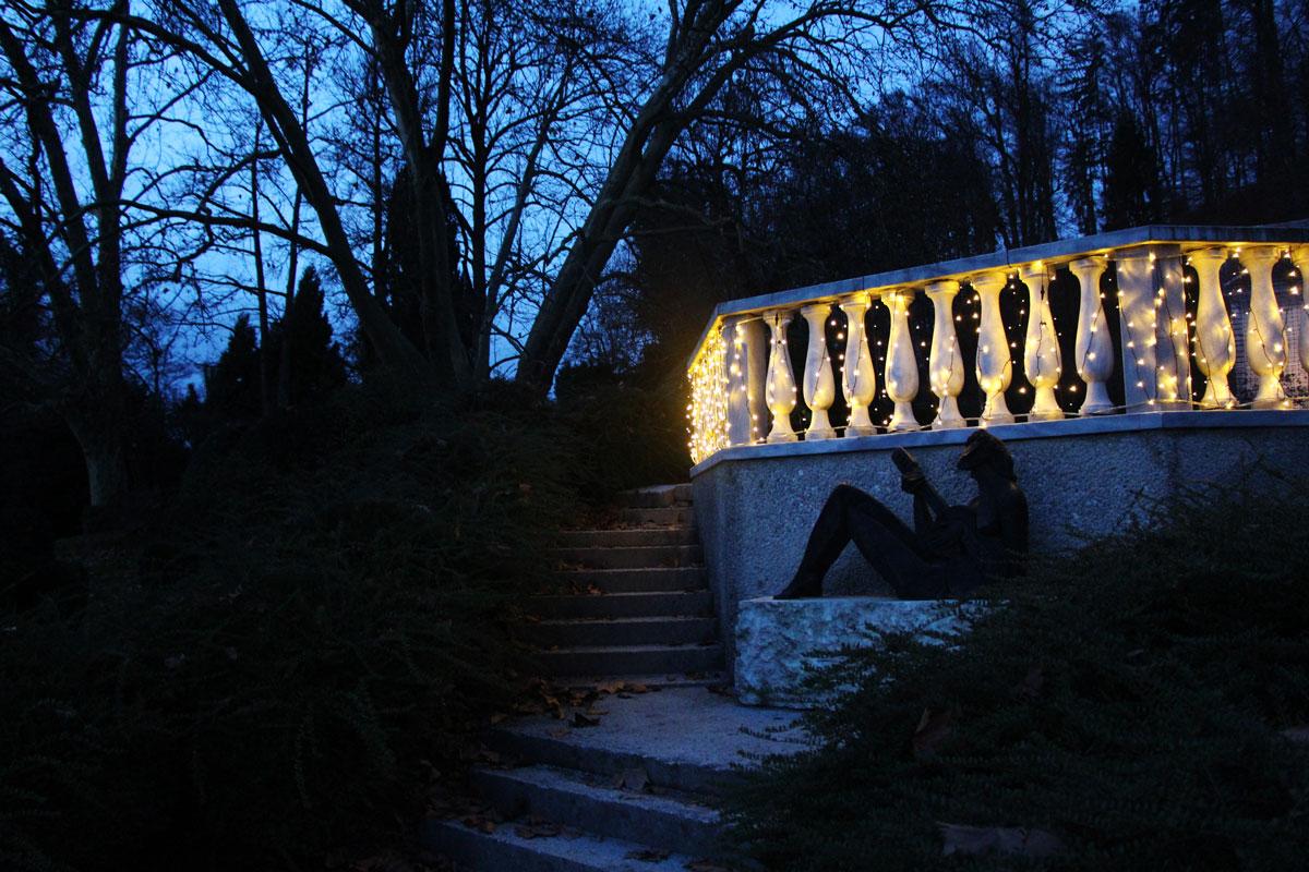 Zima v Arboretumu Volčji Potok