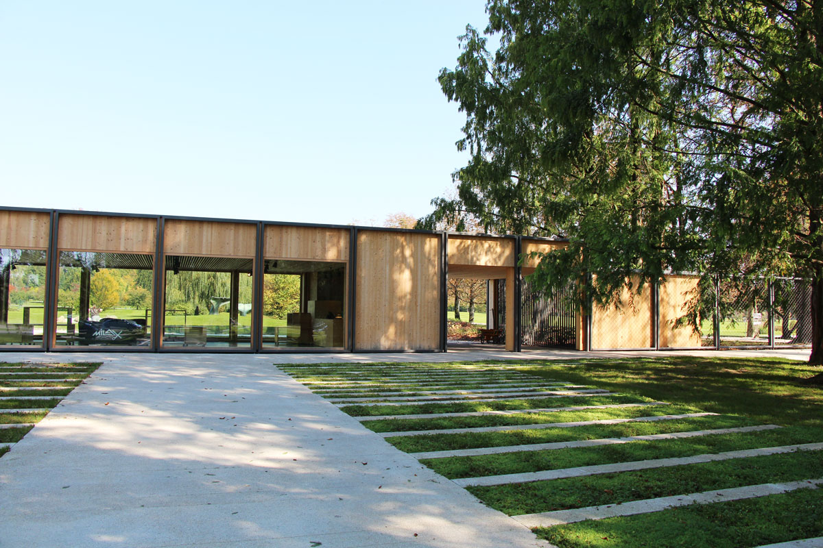 Vstopni objekt Arboretuma
