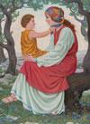 Marija z Jezusom