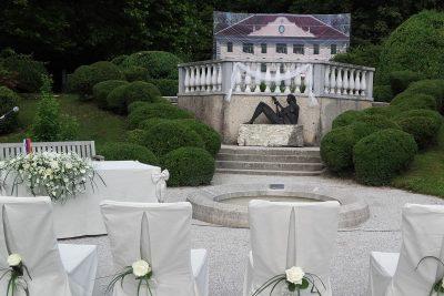 Poroka v Arboretumu Volčji Potok