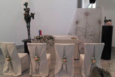 Poroka v Galeriji Janeza Boljke
