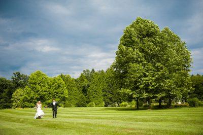 Poroka v parku
