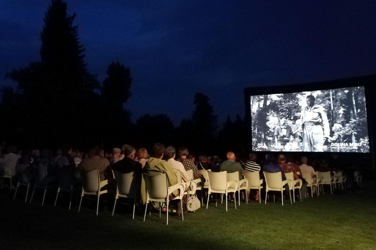 Filmski večeri v Arboretumu