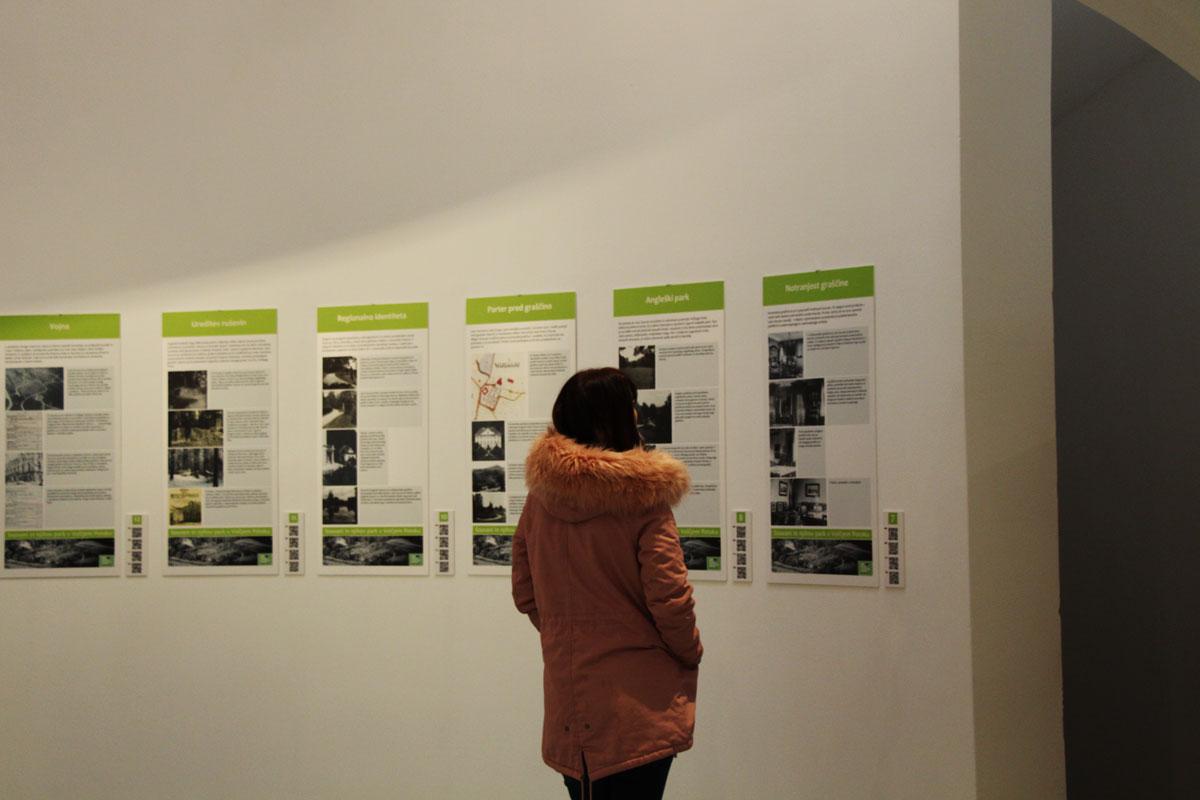 Multimedijska predstavitev in razstava o Souvanih in njihovem parku v Volčjem Potok