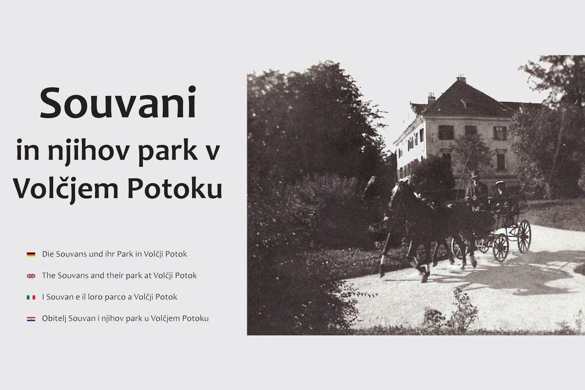 Souvani in njihov park v Volčjem Potoku