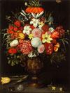 Vaza s cvetjem
