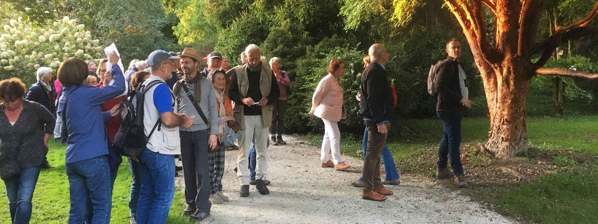 Vođenje u Arboretumu Volčji Potok