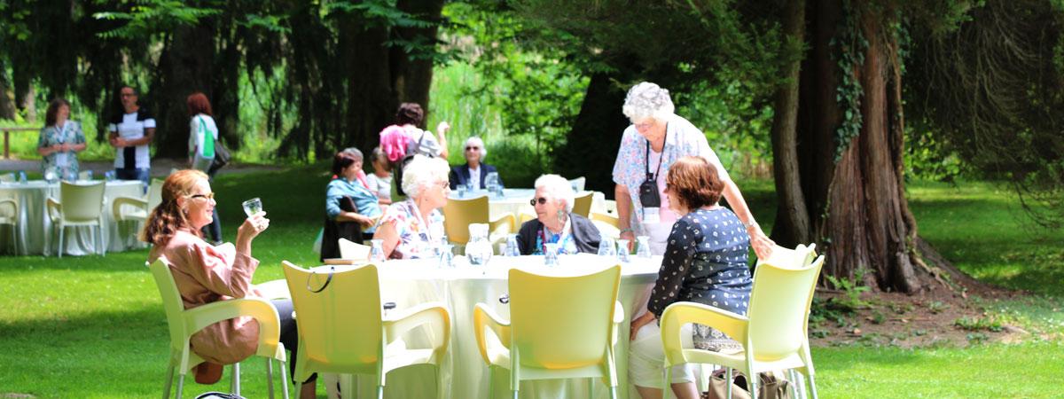 Pranzo al parco Arboretum Volčji Potok