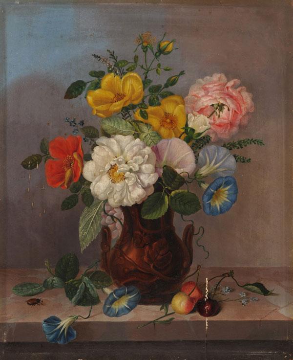 Cvetlično tihožitje - Marija Auersperg Attems