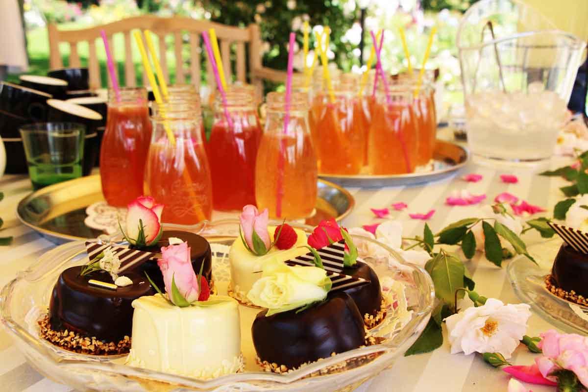 Vrtnična limonada v Kavarni Arboretuma