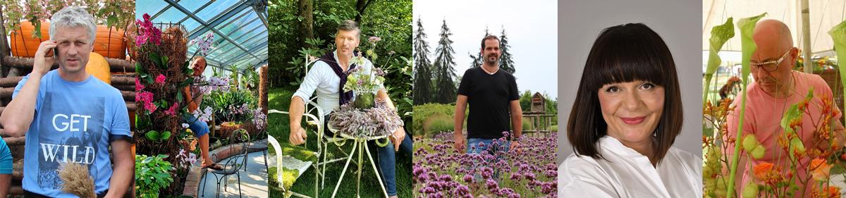 Predstavitev floristov cvetlične razstave