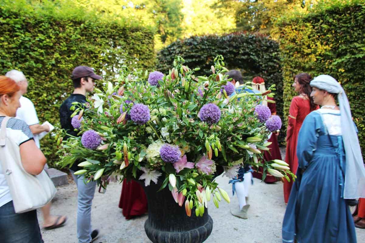 Otvoritev cvetlične razstave