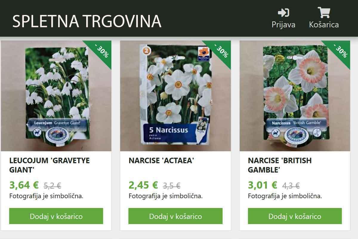 NOVO - spletna trgovina vrtnega centra