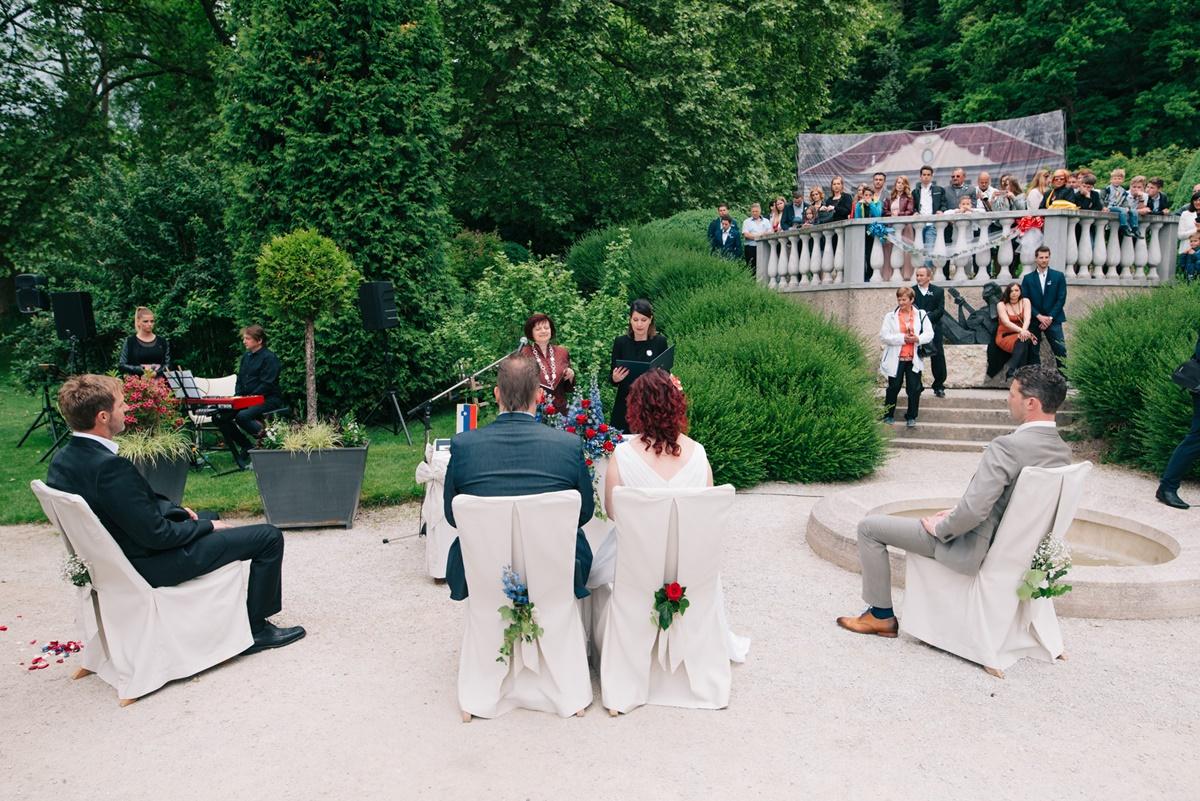 Poroka v Francoskem vrtu, Foto 'IZZIV' Roman Bor s.p.