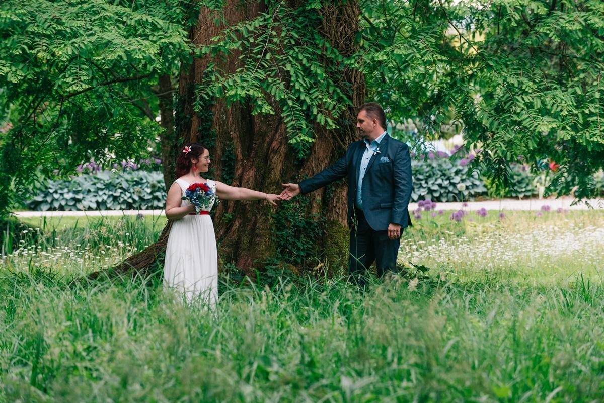 Poroka v Arboretumu, Foto 'IZZIV' Roman Bor s.p.