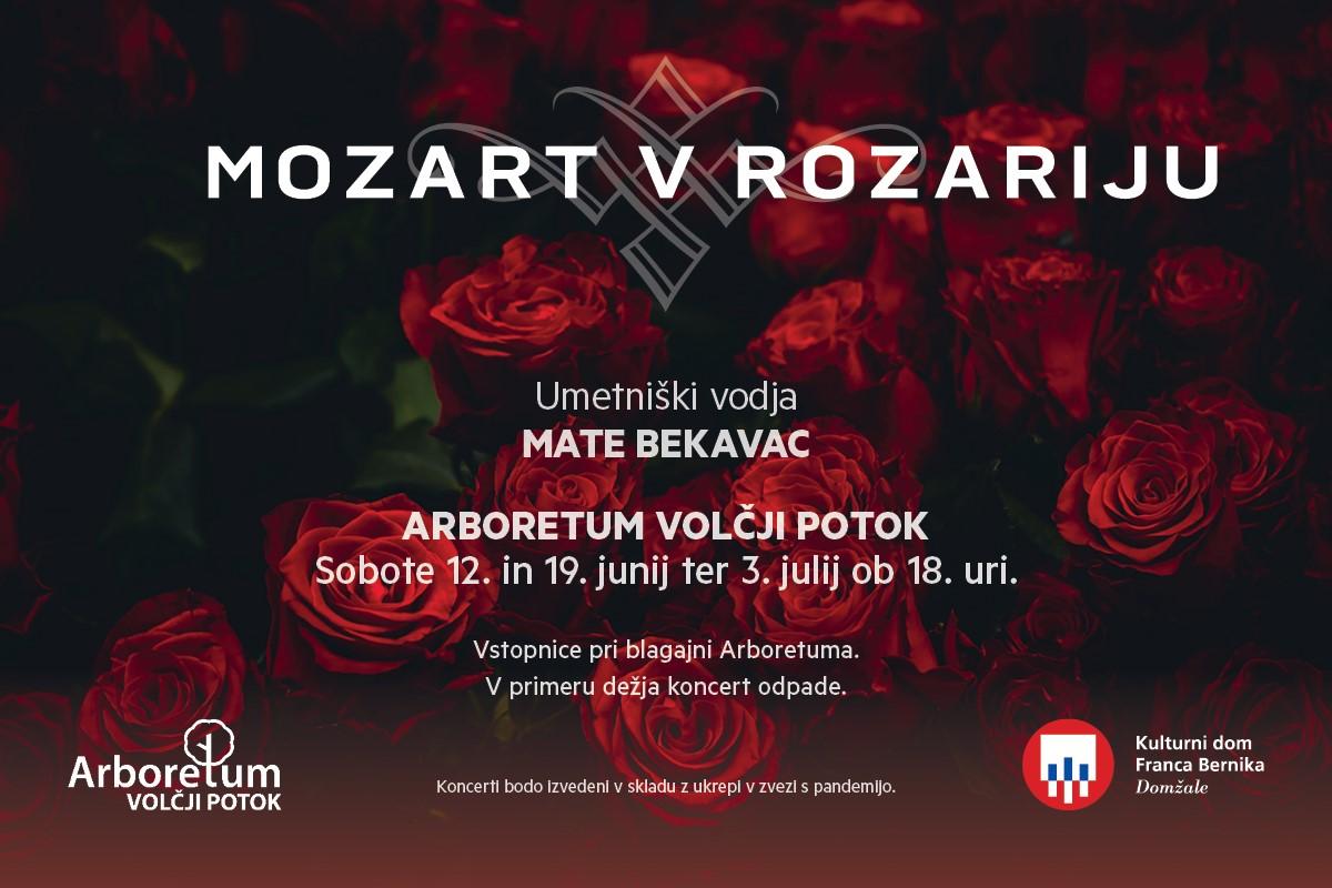 Koncert Mozart v rozariju